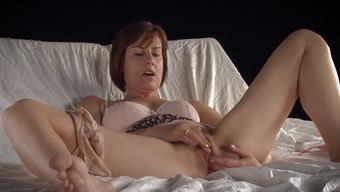Mature solo orgasm